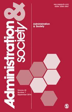 Public administration literature review